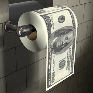 toilet paper benjamins