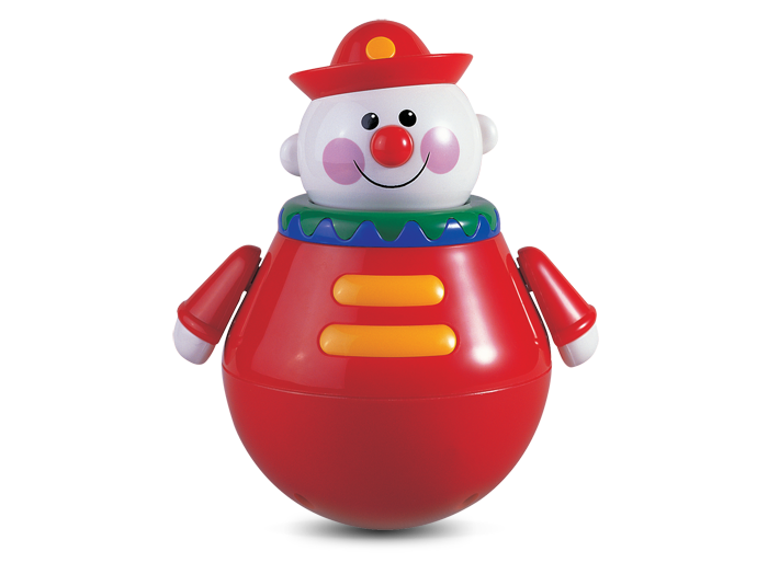 roly-poly clown